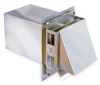 High Temp Side Wall Vent Hood,3 In -- 14U196