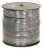 1000' RG6 Quad Shield Coaxial Cable, Black -- 202804
