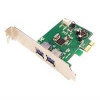 SIIG DP SuperSpeed USB 2-Port PCIe - USB adapter - PCI Expre -- JU-P20412-S2