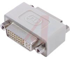 DVI BULKHEAD ADAPTER, FEMALE/FEMALE -- 70126381