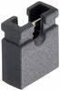 2 Pos. Female Jumper Socket, Open Shunt, Black -- M7582-05