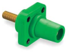 Female Receptacle,400A,600AC/250DC,Green -- 2XB56 - Image