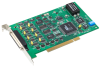 16-bit, 8-ch Analog Output PCI Card with 16-ch Digital I/O -- PCI-1723