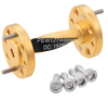 WR-12 90 Degree Right-hand Waveguide Twist with a UG-387/U-Mod Flange Operating from 60 GHz to 90 GHz -- PEW12TW001 - Image