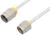2.92mm Male to 2.4mm Male Cable 12 Inch Length Using PE-SR405FL Coax, RoHS -- PE35664-12 -Image
