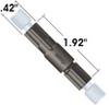 100 psi (7 bar) BPR Cartridge (P-763) with PEEK Holder -- P-787 - Image