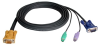 20FT SPHD15M-HD15M/MINIDIN6M -- 2L5206P - Image
