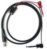Male BNC Coaxial Test Cable RG58C/U to XR Mini-Hooks -- 1020XR -Image