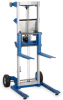 VESTIL Straddle Base Aluminum Winch Lifts -- 7187202