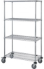 Wire Shelving - Carts - Stem Caster - M2436C46