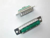 Cable Assemblies and IO cable connectors, IO cable connectors, D-Subminiature, D-Subminiature Cable Signal and Power, Contact type=Power -- DA11W1PA00LF - Image