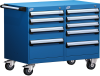 Mobile Compact Cabinet with Partitions -- L3BEG-2401L3 -Image