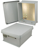 14x12x6 Inch 120 VAC Weatherproof Enclosure with Heating System -- NBC141206-1H0 -Image