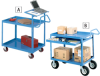 EUROKRAFT Premium Multi-Use Carts - Combination Carts -- 7096302