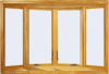 400 Series 10° Casement Bow Windows