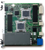 Dual Intel® Xeon® E5-2648L/E5-2648L v2 Processor 10 Gigabit Ethernet AdvancedTCA® Processor Blade -- aTCA-6200A