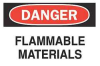 Label,3.5x5,Flammable Materials -- 1VC59