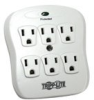 Tripp Lite Spike Blok surge suppressor -- SK6-0