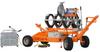 Hydraulic Fusion Machine to Butt Fuse Pipe -- DELTA 355 TRAILER