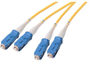 9/125, Single mode Fiber Cable, Dual SC /Dual SC, 2.0m -- SFODSC-02 - Image