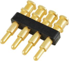 8Y254 Series Right Angle Connectors for Spring Probe, 2.54mm/0.100