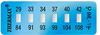 Thermax® 6 Level Mini Strip Irreversible Temperature Recording Strips -- 06STHM0ML1C01PK