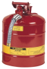 Safety Cans - 5 Gal., Type II safety can w/ 5/8