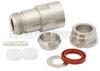 N Female (Jack) Connector For RG214, RG213, RG393, RG8, RG225, RG215, RG9 Cable, Clamp/Solder (Captive Contact)