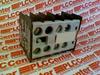 AUX. CONTACT BLOCK,4NC,W/SCREW TERMINALS -- 3TX44040A