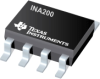 INA200 High-Side Measurement Current-Shunt Monitor with Comparator and Reference -- INA200AIDGKT -Image