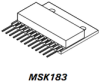 High Voltage/High Current Op-Amp -- MSK183 - Image