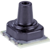 Basic ABP Series, Compensated/Amplified, gage, leadless SMT LN: single axial barbless port, dry gases only, diagnostics on, 0 mbar to 60 mbar, analog, 10% to 90% of Vsupply, no temperature output, no -- ABPLLND060MGAA3 -Image