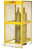 Steel Cylinder Storage Cabinet -- CAB360 -- View Larger Image