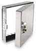 Hinged Access Door, 10 x 10,Galv Steel -- 2TFX4