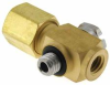 Compression, Swage, Tee, 1/8, 10-32, Fitting -- MCBT-18-10 -Image