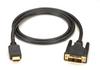 2-m HDMI to DVI Cable, Male/Male -- EVHDMI02T-002M - Image