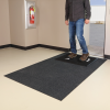 Shoe Disinfectant Mat with Adhesive-Backed Carpeted Rug -- SAN202 -- View Larger Image