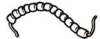 Fish Spine Beads -- 10-215B -Image