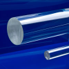 Clear Extruded Acrylic Rod -- 44650 - Image