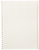 DATAB Dot Matrix Printable Labels -- DAT-12-502-10