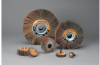 Standard Abrasives 613125 S/C Silicon Carbide SC Flexible Flap Wheel - 1/2 in Face Width - 2 in Diameter - 1/4 in Center Hole - 42678 -- 051115-42678 - Image
