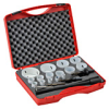 Hole Saw Kit: bi-metal HSS-Co8, 5/8 to 3-1/4 inch diameter, 19 pc -- 126318 - Image