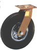 814-851 Series Full Pneumatic Medium Heavy Duty Casters -- 10-851-301 - Image