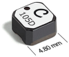 LPS5030 Series Low Profile Shielded Power Inductors -- LPS5030-684 -Image
