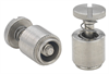 Screw Head, Spring-loaded - Metric -- PFS2-M4-50 -- View Larger Image