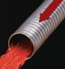 HTGS5180 Series Galvanized Steel Interlocked Smooth Bore Hose with Stainless steel Liner (Unpacked)