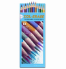 Col-Erase Colored Woodcase Pencils w/ Eraser, 12 Assorted Co -- 20516