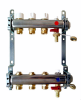 Pre-Assembled Manifold with Thermostatic Screw, Lockshield Valves and Terminal Parts Included -- A332