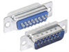 DB15 Male Solder Connectors, Tray 70 -- SD15P-TRAY - Image