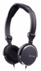 Evercool GCube Folding Headset w/ in-line Mic - Black -- 70080